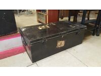 Metal Passenger Luggage / Military Trunks £30 Each
