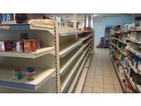 retail shop shelves