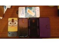 4 Samsung Galaxy S5 Phone Cases And Screen Protector