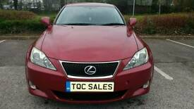 Simply exquisite 2008 Lexus IS220 2.2 Diesel with Full Lexus history and only 56k!!