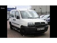 2002 (52) FIAT DOBLO MPV DIESEL NEW MOT ON PURCHASE PX TO CLEAR