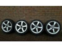 Genuine BMW alloy wheels 18inch