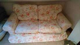 Two Seater Floral Sofa - Ikea