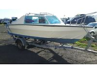 16ft boat, engine honda 25hp