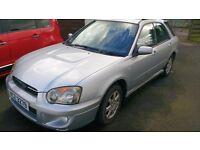 Subaru Impreza 2.0 Sport Gas Conversion
