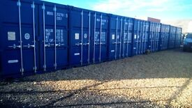 Steel Shipping Containers ideal for Self Storage or Lock up. As new, 24 hr access. Secure site.