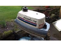 4HP EVINRUDE OUTBOARD