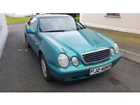 Mercedes CLK 230 Elegance. Very reliable. Genuine reason for sale.
