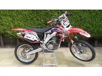 HONDA CRF250R 2005 280cc 4 STROKE MOTOCROSS CRF 250