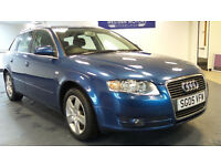 2005 05 AUDI A4 2.0 SE 5d AUTO 129 BHP *PART EX WELCOME*FINANCE AVAILABLE