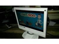Logik 19 inch screen hd lcd free view TV £ 20