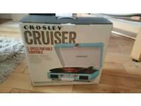 Portable turntable Crossley
