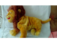lion king and madagascar soft toys