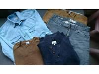 Job lot Bundle of Next Men's Clothes Small/Medium