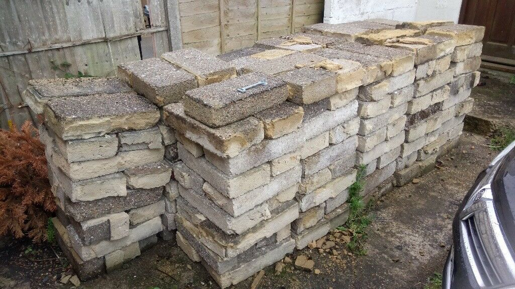 Free - 250 approx Concrete Blocks. Buyer Collects Please.