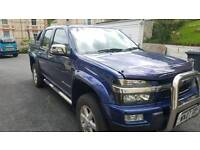 Chevrolet double cab RHD