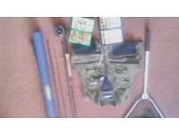 """AIRFLO 8""""6 4/5 rod and reel combo and extras"""
