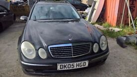 breaking mercedes e320 diesel automatic seven seater all parts available