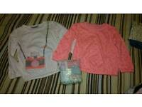 Girls 2-3 clothes t-shirts tunic vests
