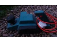 electric Black and Decker planer