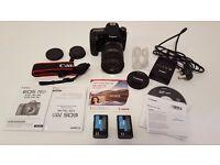 As NEW Canon 70D 20.2 MP + 18-200mm LENS + 32GB SD + Extra Battery ... EOS Digital SLR Camera DSLR