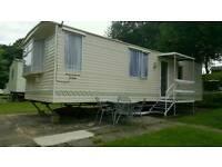 6 berth caravan modern @ Hoburne Naish