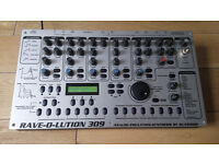 Quasimidi Rave-O-Lution 309 Fully expanded groovebox / drum machine / synth 399 o.n.o.