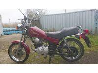 Yamaha SR125 Free.....