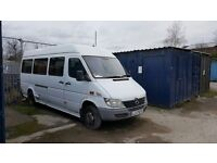 15seater + driver minibus