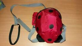little life back pack reins. ladybird
