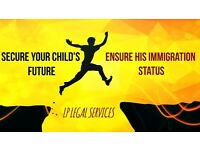 If your child in born here and 5 years old- Apply today for his immigration status.