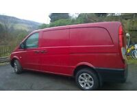 Mercedes Vito LWB Twin Side Loading Doors