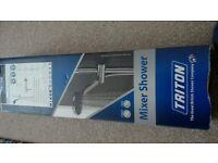 Triton Luca thermostatic bar mixer shower