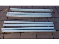 Fluorescent Batten/light fixing complete with tubes - 7 available