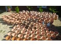 Terracotta garden pots no plastic