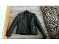 Motor Bikers Kett l women s leather jacket with leather pants size 14