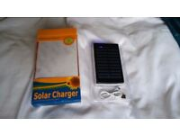 Solar Charger for phones and tablets.