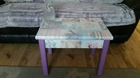 Upcycled solid pine table