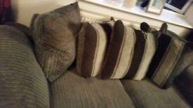 Fabric 2 Seater Sofa