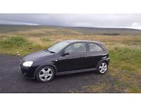 Vauxhall Corsa SRI 2005 - 51k. Well maintained with documents.