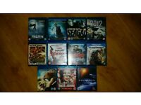 Bulk Blu Ray Collection Various Movies