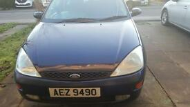 Ford Focus 1.4 Manual 3 Door 2001 Model for quick sale (Any good offer)