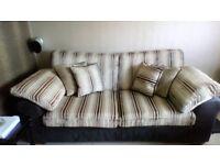 Three seater sofa bed