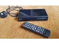 Dion Freeview box, with remote