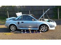 TOTALLY OUTSTANDING,1989 TOYOTA MR2 T-BAR ONLY 76000 MILES,mx5,z3,rs,classic car,vintage,van,bmw,