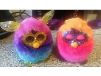Two furbys as new unwanted gifts as new £10