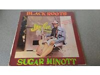 SUGAR MINOTT - BLACK ROOTS, JAH LIVE - VINYL L.P - GERMAN PRESS
