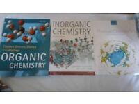FREE university chemistry textbooks. Organic, Inorganic & Physical. must go by 29th June.