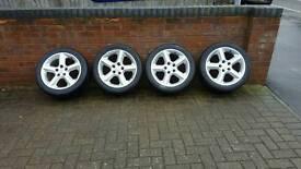 """Vauxhall wheels 17"""" Aloys"""