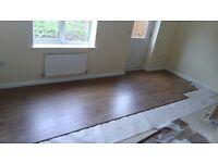 Installation of floor panels,5£ per square meter .Around sutton in ashfield.